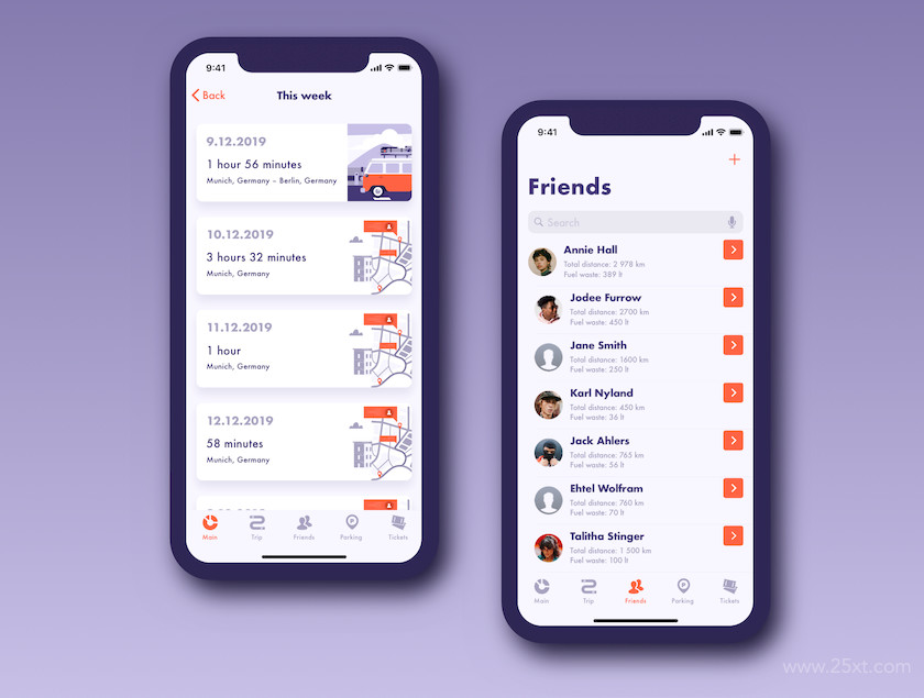 UI Kit for fuel tracker and parking app 9.jpg