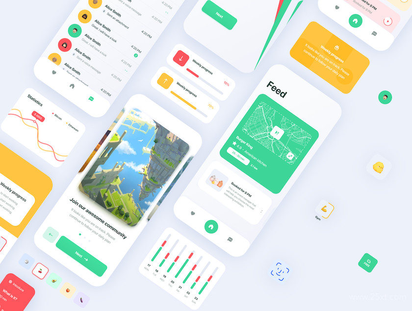 483586 Marvie iOS App UI Kit3.jpg