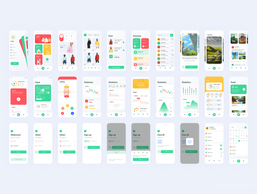 483586 Marvie iOS App UI Kit6.jpg