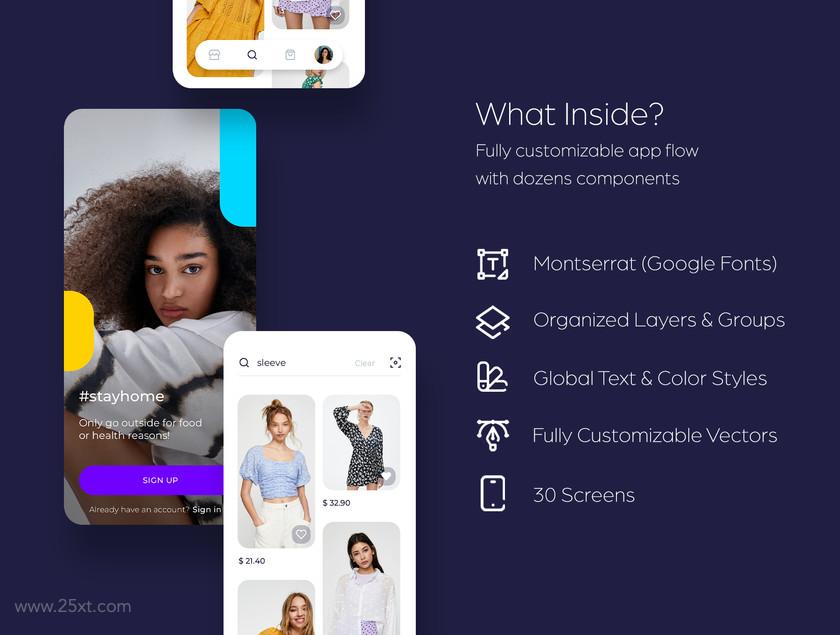 25xt-484153 Milana Shopping App UI Kit1.jpg
