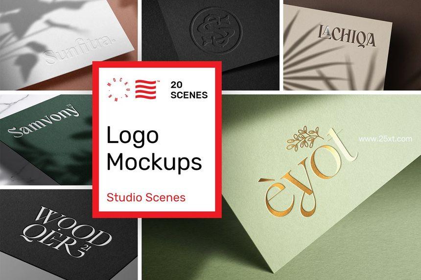 25xt-485775-Logo Mockup Bundle - Paper Print9.jpg