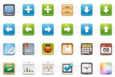 分享和免费下载ICON DOCK 的一组ICON图标设计
