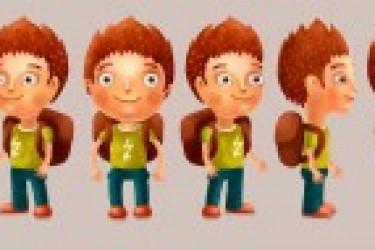 一组iOS版本的卡通人物头像设计欣赏