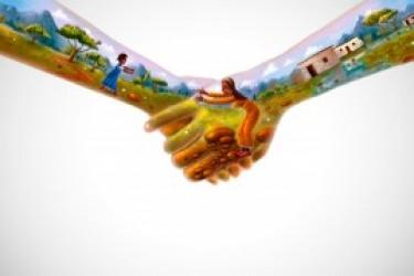"""2013世界移动通信大会关于""""手""""的创意设计"""