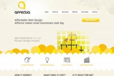 网站色彩搭配之《黄色系列网页设计教程》