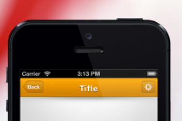 iphone Web App界面导航设计总结与经验分享