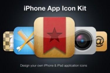 最新iOS7 App Icon图标设计素材PSD下载