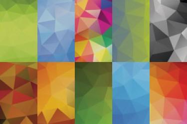 25个多边形背景素材下载|APP设计素材推荐