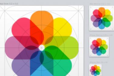 iOS7网格系统设计详细解读及iOS7图标模板演示