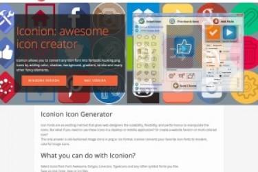 iconions:一款实用的移动APP图标生成工具