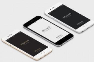 iPhone6和Apple Watch全套设计素材和设计模板分享