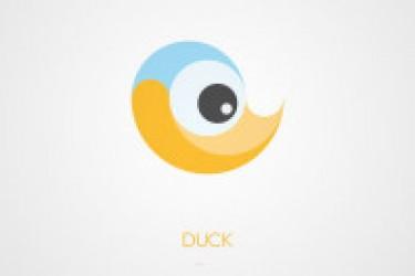 18个有创意的扁平化风格的logo设计欣赏