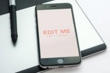 8张手机模型iPhone 6 Mockup PSD场景素材欣赏
