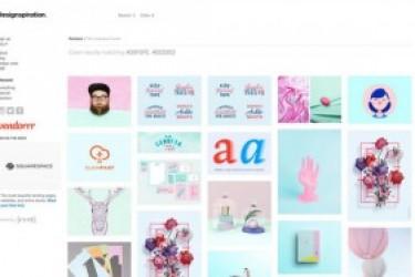设计师的小技巧,通过色彩搜索追波网上的APP设计作品