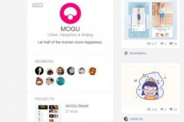 蘑菇街UI团队的dribbble主页和APP设计作品推荐