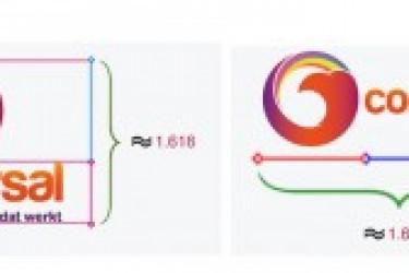 Logo设计干货:怎样使用黄金比例去绘制LOGO图形