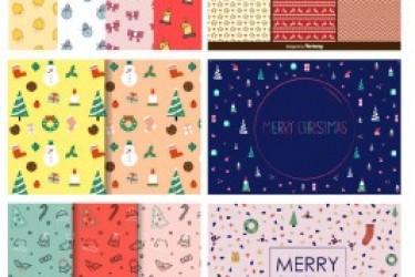 2016圣诞节设计素材打包下载,设计师的专属福利