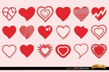 专属设计师的礼物:让你心动的情人节图标素材