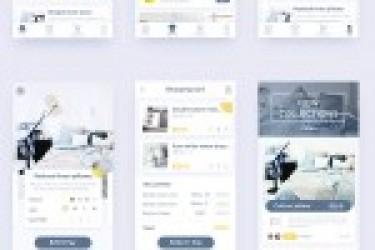 APP原创设计首发:北欧家居风格的APP界面设计