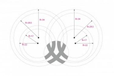 Logo标识设计的学习:如何正确使用LOGO网格设计