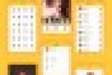 红黄搭配的兴趣类APP视觉界面欣赏,活力十足