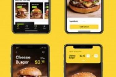 在线美食订购APP交互与视觉界面设计学习