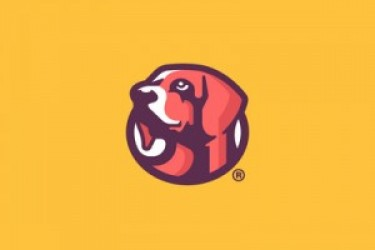 logo设计学习课堂:一组超萌动物logo设计欣赏