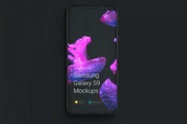 安卓手机样机模型素材—Samsung Galaxy S9 Mockups