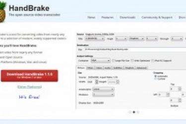 动效设计小插件GifGun和视频压缩工具HandBrake