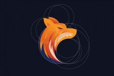 运用黄金比例进行动物logo设计案例欣赏与学习