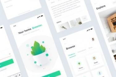 生活类植物种植app设计欣赏