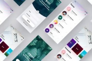 app设计灵感—放松减压类app概念设计