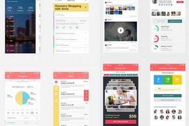app012 精美电商APP设计模板