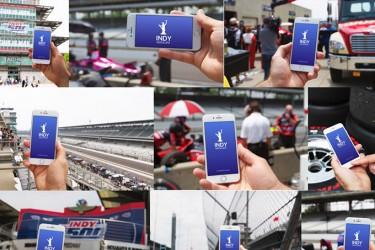 免费赛车主题的iPhone Mockup样机