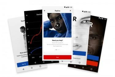 安卓Material Design风格的app界面设计模板