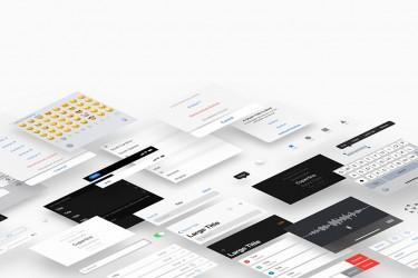 完整的iOS 12 GUI 官方套件下载及设计规范更新
