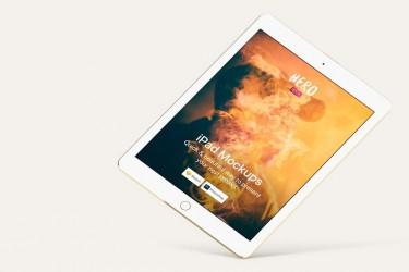 7张制作精美的iPad Mockups样机