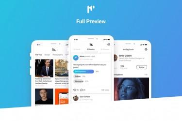 多用途iOS版app设计模板
