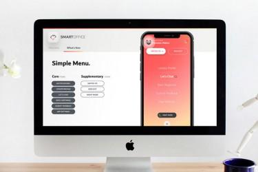 专业的app介绍keynote模板