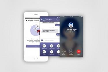 安卓版社交app界面设计模板