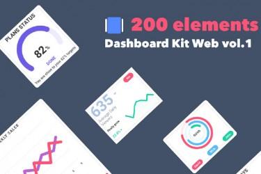 200个网站后台模板ui组件