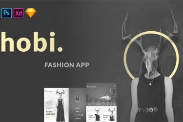 时尚的电商app设计模板