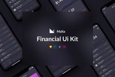 金融类app界面设计模板