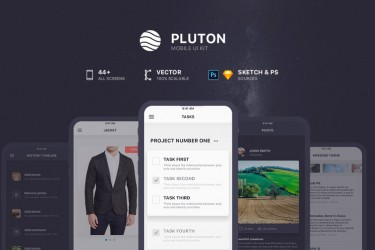 多功能图片社交app设计模板