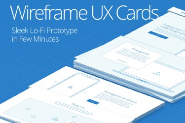 网站UX原型线框图素材