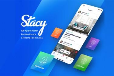 共享租房app界面设计模板