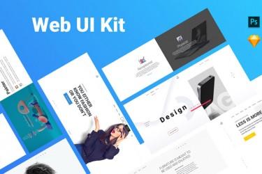 多用途网页设计模板