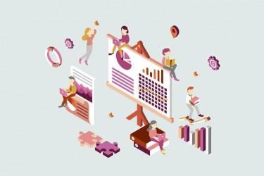 8个商业用途的等距插画素材