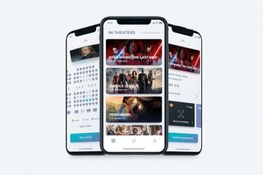 影院购票app界面设计模板