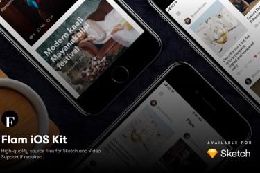 摄影师图片社交app界面设计模板